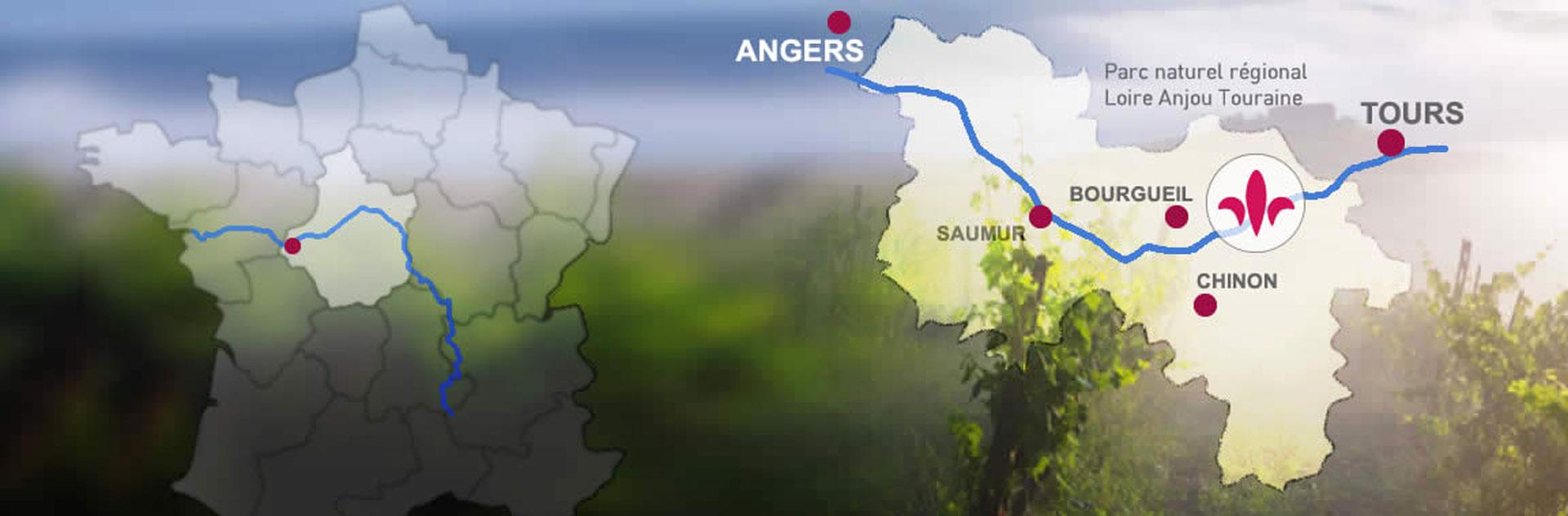 Parc Naturel Loire Anjou Touraine, patrimoine de l'UNESCO
